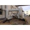 蓝宇机械设备 管式加热炉SCR脱硝方案