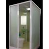 宾馆酒店整体卫生间 集成卫生间移动厕所'蹲便器