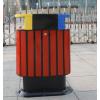 求购 熙熙环卫户外钢木垃圾桶三色桶小区物业分类果皮箱