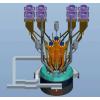 神雾热装式节能型密闭电石炉