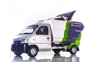 瑞保Y50纯电动垃圾压缩储运车