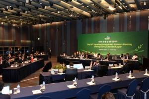 第十九次中日韩环境部长会议在韩国举行