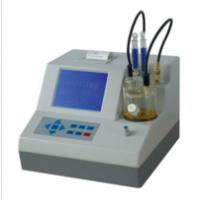 甲醇丁酮酒精专用卡尔费休水分计  全自动化工粉末测水仪