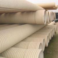 UPVC双壁波纹管雨水管污水管